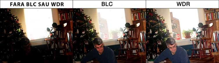 comparatie intre BLC si WDR camere supraveghere