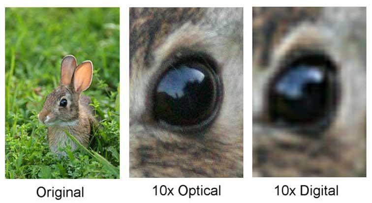 zoom optic vs zoom digital