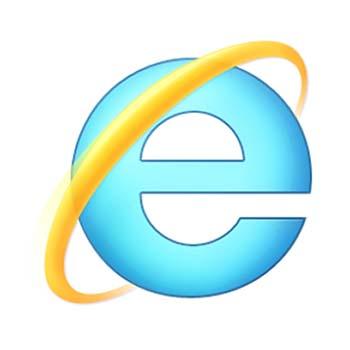 simbol internet explorer