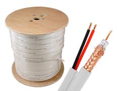 cablu coaxial cu alimentare