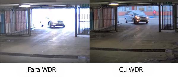 camera cu WDR exemplu