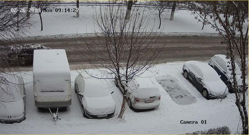 camera supraveghere parcare masina