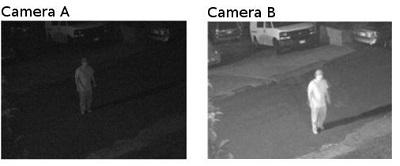 comparatie expunere camere supraveghere noaptea