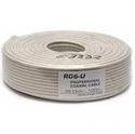Imaginea Cablu coaxial BNC RG6 pentru camere de supraveghere - rola 100m