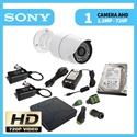 Imaginea Kit supraveghere video HD complet cu 1 camera AHD Sony 720p