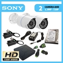 Imaginea Kit supraveghere video HD complet cu 2 camere AHD Sony 720p