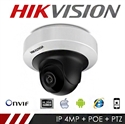 Imaginea Camera Mobila IP Interior PTZ Hikvision 4MP, FullHD, IR 10m, DS-2CD2F42FWD-IS
