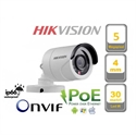 Imaginea Camera IP Exterior Hikvision, 2560x1920p, 5 megapixel, IR 30m DS-2CD2052-I