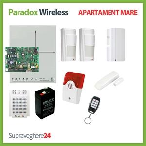 Imaginea Kit alarma wireless Paradox cu 2 PIR si 1 CM pentru Apartament