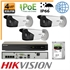 Imaginea Kit Complet IP PoE - 3 Camere IP Hikvision 4 Megapixel, NVR 4 canale PoE si HDD 1TB, configurare
