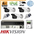 Imaginea Kit Complet IP PoE - 5 Camere IP Hikvision 4 Megapixel, NVR 8 canale PoE si HDD 2TB, configurare