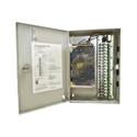 Imaginea Sursa alimentare camere supraveghere in cutie metalica, 12V , 20A, 18 iesiri cu sigurante, protectie scurt si supratensiune