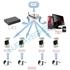 Imaginea Sistem supraveghere cu 2 camere WiFi cu microfon, interior / exterior, FullHD, Configurare inclusa