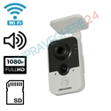 Imaginea Camera IP Wireless Interior, 2 Megapixel FullHD, Audio, Card SD, Senzor PIR, Hikvision DS-2CD2420F-IW