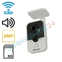 Imaginea Camera IP Wireless 3 Megapixel FullHD, Audio, Card SD Hikvision DS-2CD2432F-IW