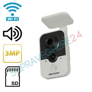 Imaginea Camera IP Wireless 3 Megapixel FullHD, Audio, Card SD Hikvision DS-2CD2432F-IW
