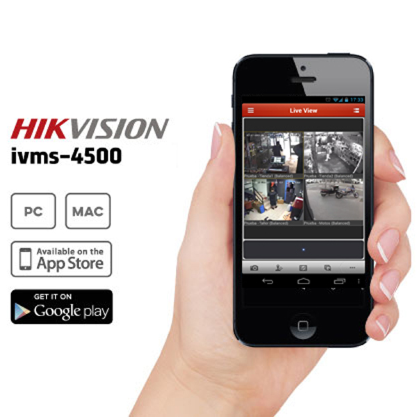 Camera IP Wireless 3 Megapixel FullHD, Audio, Card SD Hikvision  DS-2CD2432F-IW