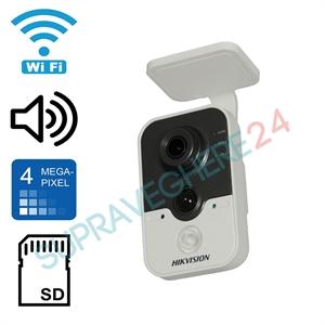 Imaginea Camera IP Wireless 4 Megapixel UltraHD, Audio, CardSD, Senzor miscare, Hikvision DS-2CD2442FWD-IW