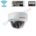 Imaginea Camera IP Dome Wireless, 2MP, FullHD, WiFi, IR 30m, Intrare Audio, Hikvision DS-2CD2120F-IWS