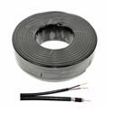 Imaginea Cablu coaxial RG6 cu cablu alimentare 2x0.75mm atasat - rola 100m