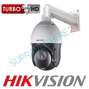 Imaginea Speed Dome Hikvision TurboHD Starlight DS-2AE4215TI-D cu suport DS-1602ZJ, exterior, 2 Megapixel FullHD, 15x zoom, IR 100m