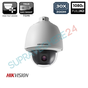 Imaginea Speed Dome Hikvision TurboHD DS-2AE5230T-A cu suport DS-1602ZJ, exterior, 2 Megapixel FullHD, 30x zoom, Day&Night