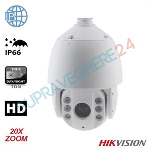 Imaginea Speed Dome IP Hikvision 1.3mp, 720p, 20x zoom, IR 100m, PoE, suport inclus, DS-2DE7174-A