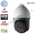 Imaginea Speed Dome IP Hikvision FullHD, 2MP, 1080p, 20x zoom, IR 150m, PoE, suport 1602ZJ inclus, DS-2DE5220IW-AE