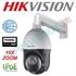 Imaginea Speed Dome IP Hikvision FullHD, 2MP, 1080p, 15x zoom, IR 100m, PoE, suport 1602ZJ inclus, DS-2DE4215IW-DE