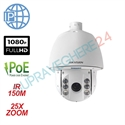 Imaginea Speed Dome IP Profesional Hikvision Starlight, exterior, 2 Megapixel FullHD, 25x zoom, IR 150m, suport inclus, DS-2DE7225IW-AE