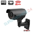 Imaginea Camera neagra exterior AHD FullHD, 1080p, varifocal, IR80m Bentech ZET72B-200