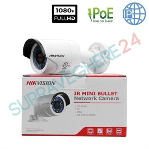 Imaginea Camera IP Exterior FullHD, 2MP, 1080p, IR 30m, HIKVISION DS-2CD2020F-I - minim 4 bucati