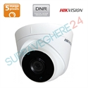 Imaginea Camera Dome HDTVI, 5 Megapixel, smart IR 20m EXIR, DNR, BLC, HIKVISION TURBOHD DS-2CE56H1T-ITM