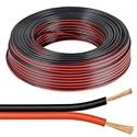 Imaginea Cablu alimentare 2x0.5mm cupru pentru camere supraveghere - rola 100m