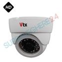 Imaginea Camera AHD dome pentru interior, rezolutie 1MP HD 720p, IR 20m, TurboVTX 1219DIR