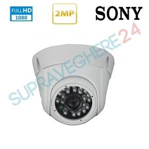 Imaginea Camera AHD dome pentru interior, Senzor Sony Exmor, 2MP 1080p FullHD, IR 20m, TurboVTX D2020IR