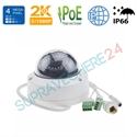 Imaginea Camera IP Dome 4MP UltraHD, WDR + BLC, cardSD, intrare audio, IR30m, Hikvision DS-2CD2142FWD-IS