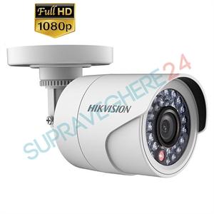 Imaginea Camera exterior HDTVI, 2 Megapixel, 1080p, IR 20m, HIKVISION TurboHD DS-2CE16D0T-IRP