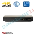 Imaginea NVR 4 canale 4K UltraHD pentru 4 camere IP, 8MP/camera, ONVIF, H265, Hikvision 7604NI-K1