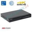 Imaginea NVR 8 canale 4K UltraHD pentru 8 camere IP, 8MP/camera, ONVIF, H265, Hikvision 7608NI-K1