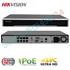 Imaginea NVR 8 canale PoE pentru 8 camere IP 4K UltraHD, 8MP/camera, 2xHDD, ONVIF, H265, Hikvision 7608NI-I2/8P