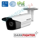 Imaginea Camera IP UltraHD, 4MP, WDR, BLC, DNR, IR EXIR 50m, day&night, Hikvision Darkfighter DS-2CD2T45FWD-I5