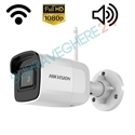 Imaginea Camera IP Wireless Exterior / Interior, FullHD, 2MP, 1080p, IR 20m, Audio Integrat, Wifi, CardSD, HIKVISION DS-2CD2021G1-IDW1