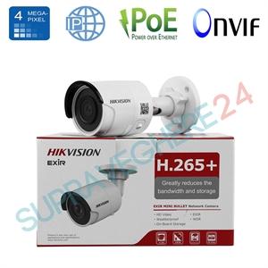Imaginea Camera IP 4 Megapixel, UltraHD, IR 30m, Stocare Card, WDR BLC DNR, Hikvision DS-2CD2043G0-I