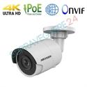 Imaginea Camera IP 4K 3840x2160 pixeli, 8 megapixel, IR Exir 30m, Detectie inteligenta, Slot CardSD, Hikvision DS-2CD2085FWD-I
