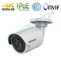 Imaginea Camera IP 4K 3840x2160 pixeli, 8 megapixel, IR Exir 30m, Slot CardSD, Hikvision DS-2CD2083G0-I