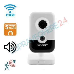 Imaginea Camera IP Wireless 5 Megapixel UltraHD, Audio, CardSD, Senzor PIR, Hikvision DS-2CD2455FWD-IW