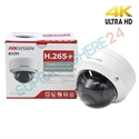 Imaginea Camera IP Dome 4K, 8Megapixel, IR EXIR 30m, DNR, WDR, BLC, day&night, HIKVISION DS-2CD2185FWD-I
