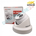 Imaginea Camera IP Dome 4K, 8Megapixel, IR EXIR 30m, DNR, WDR, BLC, day&night, HIKVISION DS-2CD2385FWD-I