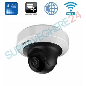 Imaginea Camera IP Rotativa WiFi Interior PTZ, 4MP, UltraHD, IR 10m, Audio, Hikvision DS-2CD2F42FWD-IWS